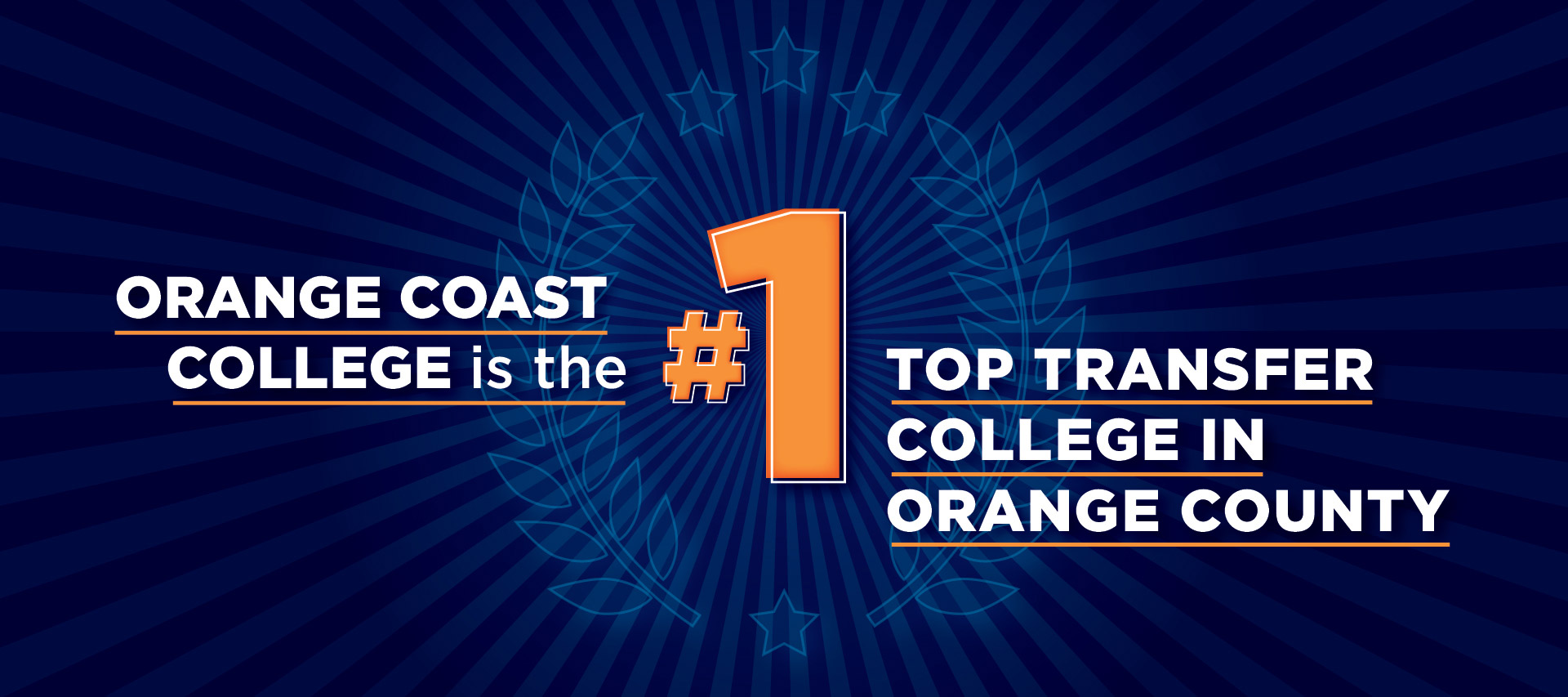 OCC is the #1 Top Transfer College in Orange County